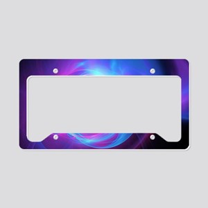 Abstract Art License Plate Holder