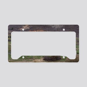 McPolinFarmExc1 License Plate Holder
