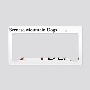 Bernese_BigDeal License Plate Holder