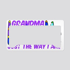 GmaLovesAutism License Plate Holder