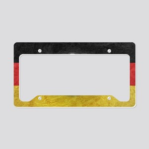Oktoberfest German Eagle Cres License Plate Holder