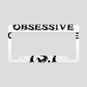 Obsessive Compulsive Distance License Plate Holder