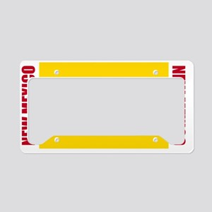 LP-new-mexico-flag License Plate Holder