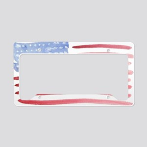 American Flag License Plate Holder