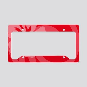 Red-Clutch License Plate Holder