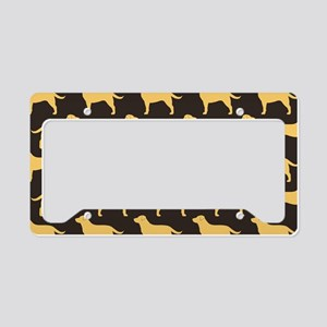 yellowlabsclutch License Plate Holder