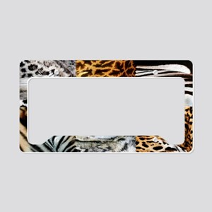 ZOO License Plate Holder