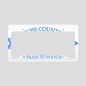 Cross Country Mom Train to Watch License Plate Hol