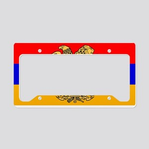 ARMENIA FLAG License Plate Holder