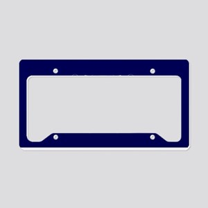 Romans 15:13 Rainbow License Plate Holder