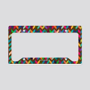 Chevron, V Pattern. Tan, Red, Black, Teal, Purple,