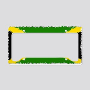 Flag of Jamaica License Plate Holder