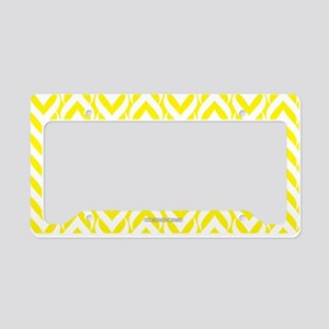 Chevron / Sawtooth Pattern License Plate Holder