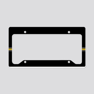 Running Keep the Pace License Plate Holder