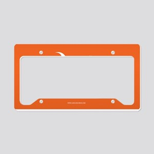 SC Palmetto Moon State Flag Orange License Plate H