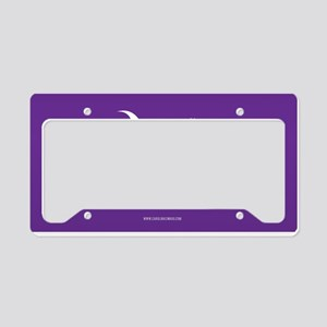 SC Palmetto Moon State Flag Purple License Plate H