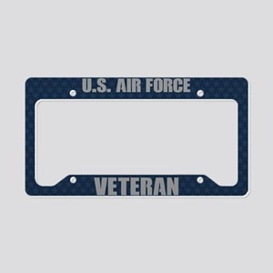 U.S. Air Force Veteran License Plate Holder