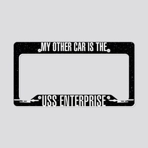 Star Trek Other Car USS Enter License Plate Holder