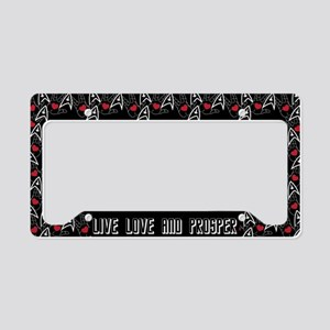 Star Trek Live Love & Prosper License Plate Holder