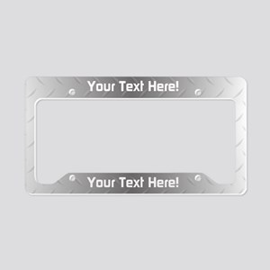 Custom Metal License Plate Holder