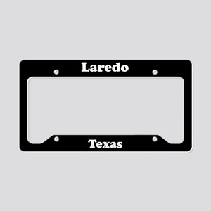 Laredo TX License Plate Holder