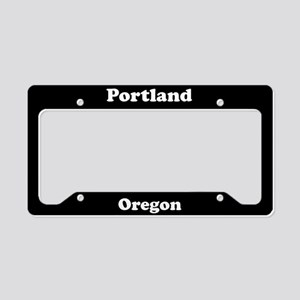 Portland OR License Plate Holder
