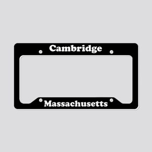Cambridge MA License Plate Holder
