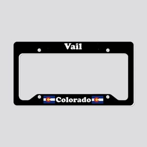 Vail CO License Plate Holder