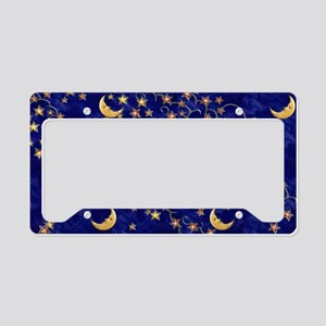 Harvest Moons Man in the Moon License Plate Holder