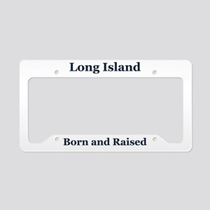 Long Island Frame License Plate Holder
