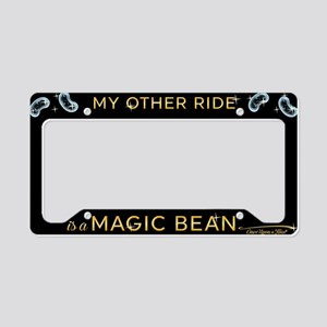 OUAT Travel Magic Bean License Plate Holder