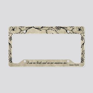 No Net Ensnares Me License Plate Holder