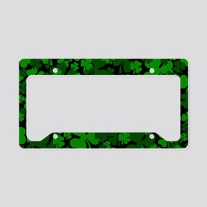 Shamrock License Plate Holder