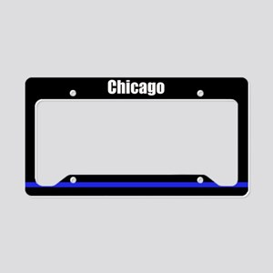 Chicago Police License Plate Holder