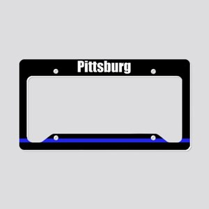 Pittsburg Police License Plate Holder