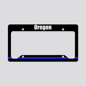 Oregon Police License Plate Holder
