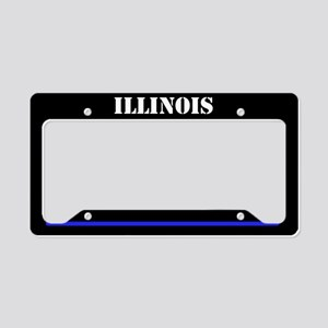 Ilinois Police License Plate Holder