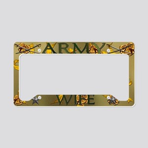 Harvest Moons Army Wife License Plate Holder