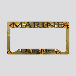 Harvest Moons Marines Daughter License Plate Holde