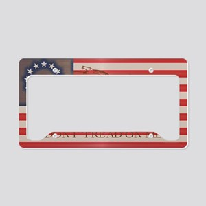 Independent License Plate Holder