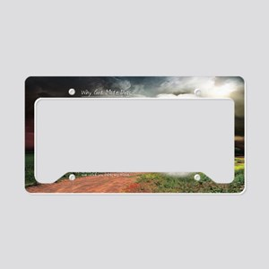 godmadedogs(license) License Plate Holder