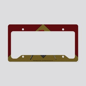 Shriners pyramid License Plate Holder