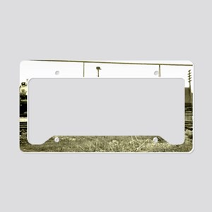 RailroadArkansas License Plate Holder