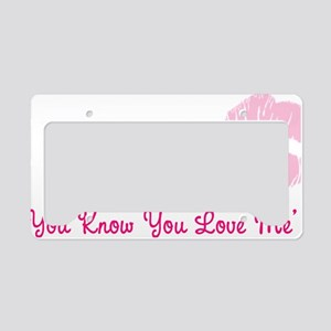 gg33 License Plate Holder