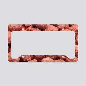 Caramelized peanuts License Plate Holder