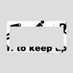 triaKeepup1A License Plate Holder