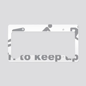 triaKeepup1C License Plate Holder