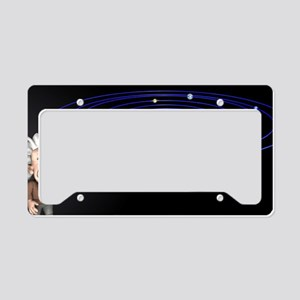 Albert Einstein, artwork License Plate Holder