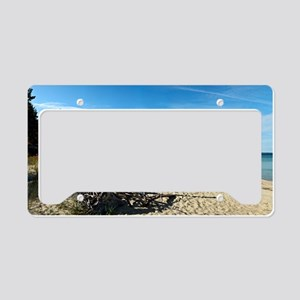 Miners beach License Plate Holder