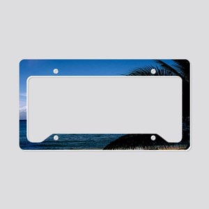 Carnival docked at Grand Caym License Plate Holder